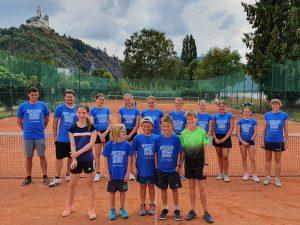 Gruppenfoto Tenniscamp 2020